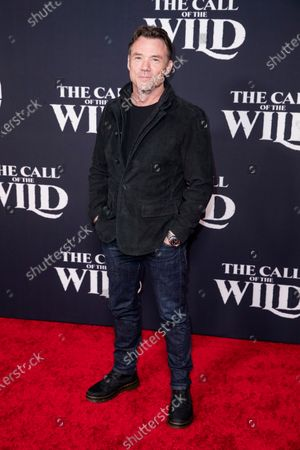 Terry Notary poses on the red carpet prior to the world premiere of 20th Century Studios' film 'The Call of the Wild' at El Capitan Theater in Hollywood, California, USA, 13 February 2020. The film will be released in the USA on 21 February.