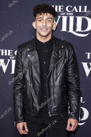 Khleo Thomas poses on the red carpet prior to the world premiere of 20th Century Studios' film 'The Call of the Wild' at El Capitan Theater in Hollywood, California, USA, 13 February 2020. The film will be released in the USA on 21 February.