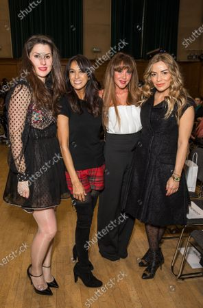 Stock Image of Bianca Phillips, Jackie St Clair, Michelle Heaton and Elen Rivas