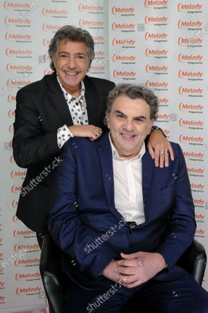 Stock Photo of Jean-Pierre Pasqualini and Frederic Francois