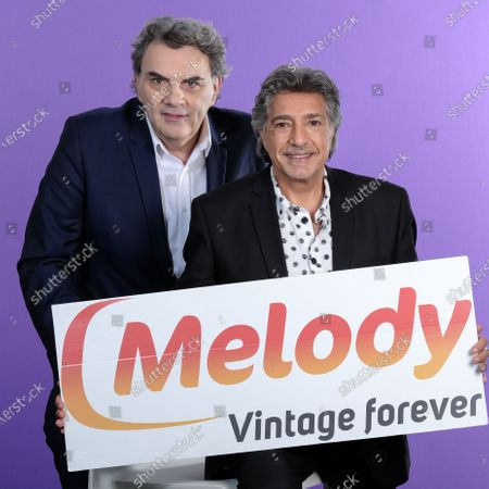 Stock Image of Jean-Pierre Pasqualini and Frederic Francois