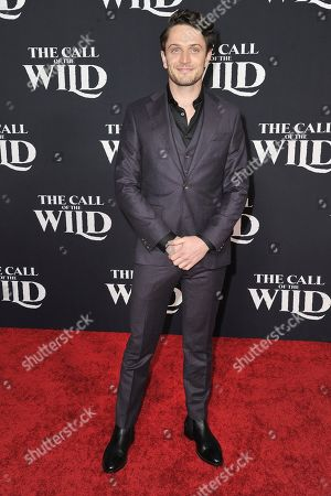 """Colin Woodell attends the premiere of """"The Call of the Wild"""" at El Capitan Theatre, in Los Angeles"""
