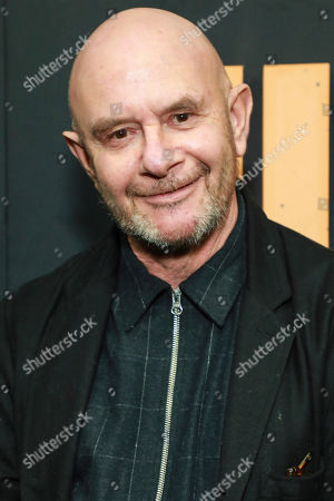"""Stock Picture of Nick Hornby attends the premiere of Hulu's """"High Fidelity"""" at Metrograph, in New York"""