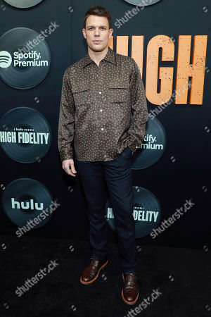 "Jake Lacy attends the premiere of Hulu's ""High Fidelity"" at Metrograph, in New York"