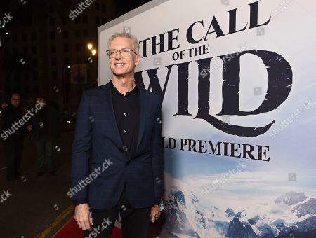 """Stock Photo of Chris Sanders, director of """"The Call of the Wild,"""" poses at the premiere of the film at the El Capitan Theatre, in Los Angeles"""