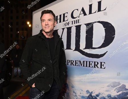 """Movement coach Terry Notary poses at the premiere of the film """"The Call of the Wild"""" at the El Capitan Theatre, in Los Angeles"""