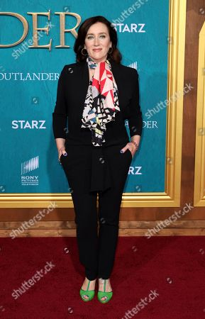 """Maria Doyle Kennedy arrives at the Los Angeles Premiere of """"Outlander"""" Season 5 at the Hollywood Palladium, in Los Angeles"""