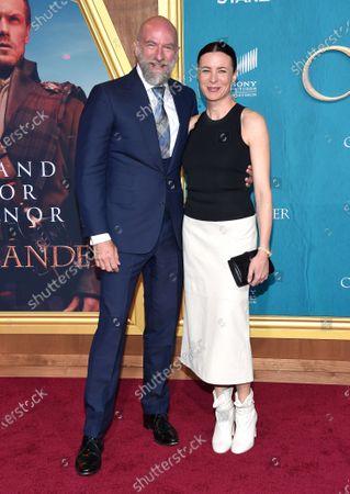 Graham McTavish and Gwen McTavish