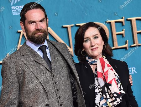 Duncan Lacroix and Maria Doyle Kennedy