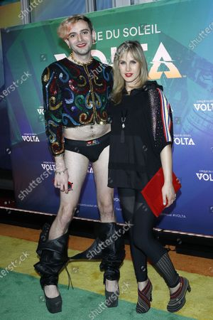 Editorial picture of Cirque Du Soleil VOLTA Equality Night benefiting Los Angeles LGBT Center, USA - 13 Feb 2020