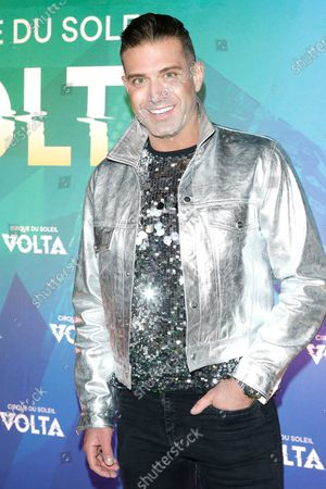 Omar Sharif Jr. arrives at the Cirque Du Soleil VOLTA Equality Night Benefiting the Los Angeles LGBT Center, at Dodger Stadium in Los Angeles, California, USA, 13 February 2020.