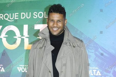 Jeffrey Bowyer-Chapman arrives at the at the Cirque Du Soleil VOLTA Equality Night Benefiting the Los Angeles LGBT Center, at Dodger Stadium in Los Angeles, California, USA, 13 February 2020.