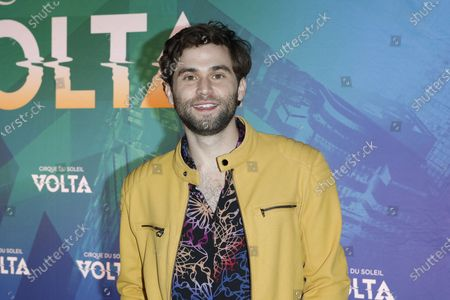 Jake Borelli arrives at the at the Cirque Du Soleil VOLTA Equality Night Benefiting the Los Angeles LGBT Center, at Dodger Stadium in Los Angeles, California, USA, 13 February 2020.