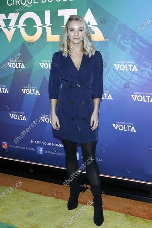 Mollee Gray arrives at the Cirque Du Soleil VOLTA Equality Night Benefiting the Los Angeles LGBT Center, at Dodger Stadium in Los Angeles, California, USA, 13 February 2020.