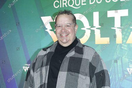 Editorial image of Cirque Du Soleil VOLTA Equality Night benefiting Los Angeles LGBT Center, USA - 13 Feb 2020