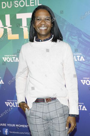 Clark Moore arrives at the Cirque Du Soleil VOLTA Equality Night Benefiting the Los Angeles LGBT Center, at Dodger Stadium in Los Angeles, California, USA, 13 February 2020.