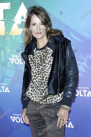 Anne Ramsay arrives at the Cirque Du Soleil VOLTA Equality Night Benefiting the Los Angeles LGBT Center, at Dodger Stadium in Los Angeles, California, USA, 13 February 2020.