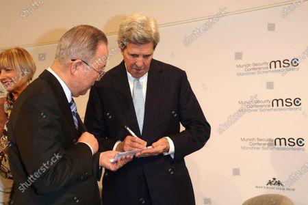 Ban Ki-moon, John Kerry
