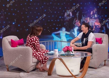 Lorraine Kelly and Brendan Cole