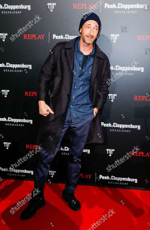 Adrien Brody, Collection Launch of the Neymar Jr. Capsule Collection for REPLAY, Areal Boehler / Kaltstahlhalle, Duesseldorf, February 14, 2020, Photo: People Picture / Fouad