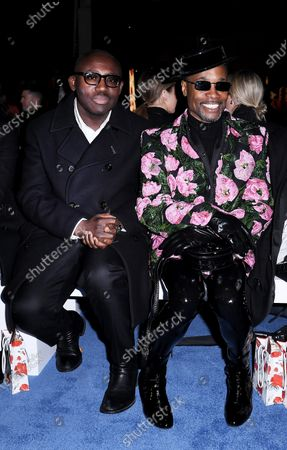 Edward Enninful and Billy Porter