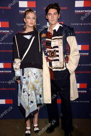 Florence Kosky and Isaac Carew