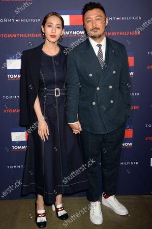 Sarah Wang and Shawn Yue