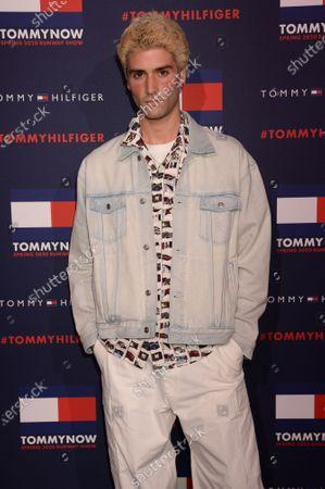 Editorial image of Tommy Hilfiger show, Arrivals, Fall Winter 2020, London Fashion Week, UK - 16 Feb 2020