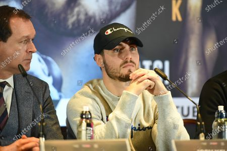 Josh Kelly during a Press Conference at Glaziers Hall on 14th February 2020
