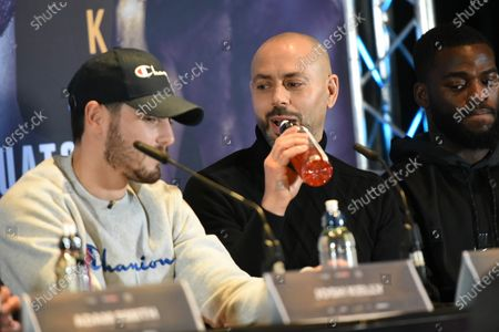 Stock Image of Adam Booth during a Press Conference at Glaziers Hall on 14th February 2020