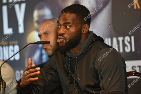 Editorial image of Matchroom Boxing Press Conference, Boxing, Glaziers Hall, London, United Kingdom - 14 Feb 2020