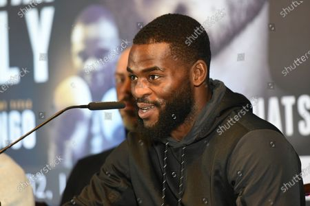 Stock Picture of Joshua Buatsi during a Press Conference at Glaziers Hall on 14th February 2020
