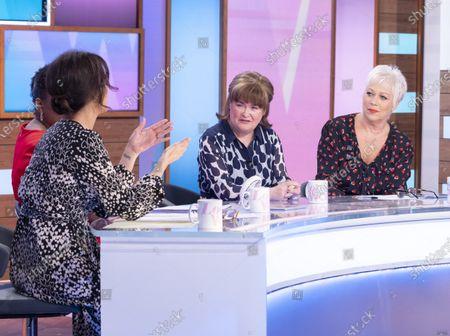 Andrea McLean, Brenda Edwards, Susan Boyle, Denise Welch
