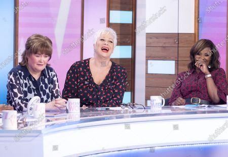 Susan Boyle, Denise Welch and Kelle Bryan