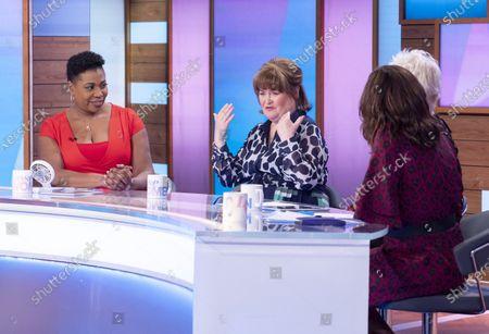 Brenda Edwards, Susan Boyle, Denise Welch and Kelle Bryan