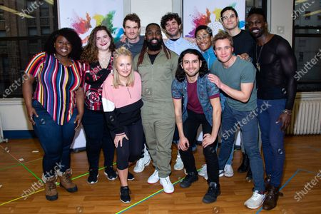 Editorial photo of 'Joseph And The Amazing Technicolor Dreamcoat' musical press preview, New York, USA - 13 Feb 2020