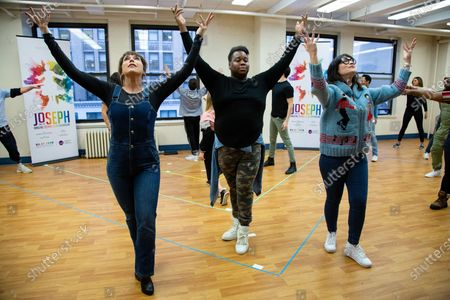 Editorial image of 'Joseph And The Amazing Technicolor Dreamcoat' musical press preview, New York, USA - 13 Feb 2020