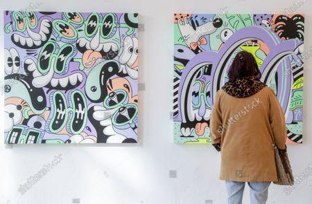 Editorial picture of ZOO art exhibit in Brussels, Belgium - 14 Feb 2020