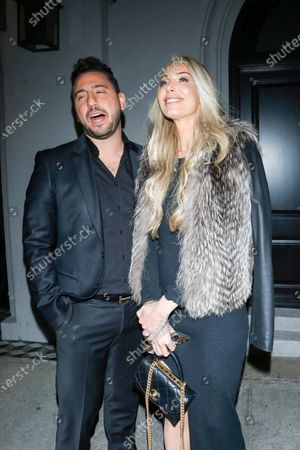 Josh Altman and Heather Altman at Craig's Restaurant