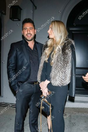Editorial picture of Josh Altman out and about, Los Angeles, USA - 13 Feb 2020