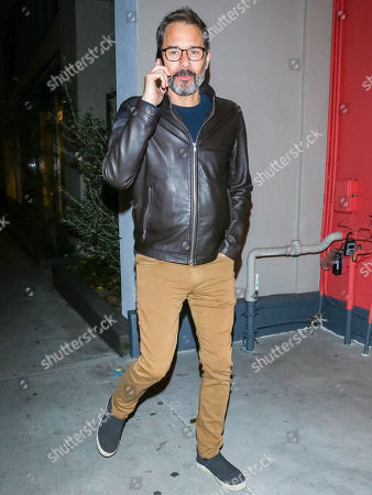 Editorial image of Eric McCormack out and about, Los Angeles, USA - 13 Feb 2020