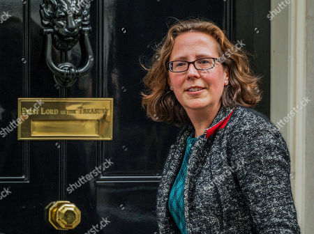 Stock Picture of Rt Hon Natalie Evans of Bowes Park, arrives late and has to ring the bell, she remains Lord Privy Seal and Leader of the House of Lords