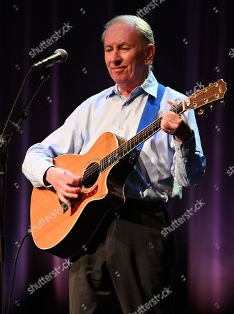Editorial photo of Al Stewart in concert at Crest Theatre at Old School Square, Florida, USA - 13 Feb 2020