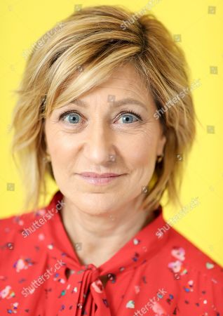 Stock Picture of Edie Falco is seen at Edie Falco portrait session at AP Studios, in New York