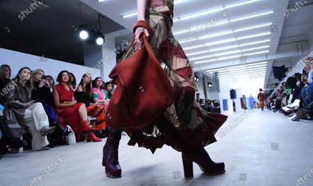 Editorial photo of Richard Malone - Runway - London Fashion Week Autumn Winter collections, United Kingdom - 14 Feb 2020