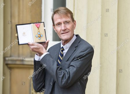 Stock Picture of James Grant, primarily known by his pen name Lee Child, receives a CBE for Services to Literature