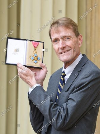 James Grant, primarily known by his pen name Lee Child, receives a CBE for Services to Literature