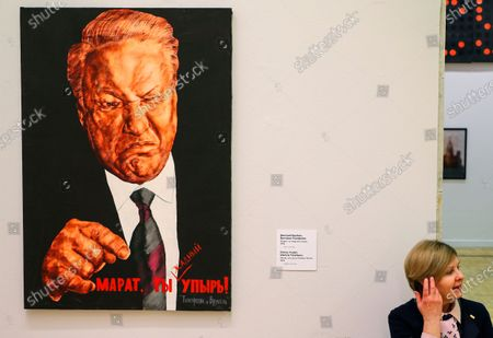 Editorial image of Marat Gelman donated artworks to State Tretyakov Gallery, Moscow, Russian Federation - 14 Feb 2020