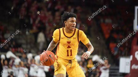 Editorial picture of Iowa St Oklahoma Basketball, Norman, USA - 12 Feb 2020
