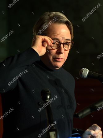 Editorial picture of Matthew Broderick and Sarah Jessica Parker honor Neil Simon in Boston, USA - 14 Feb 2020